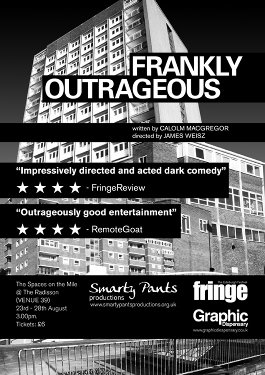 Frankly Outrageous Poster