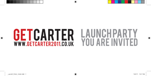 Get Carter - Launch Party Invite