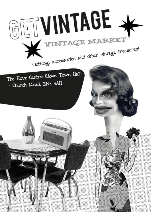 Get Vintage Flyer
