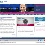 Imperial College London / Study Group – Website