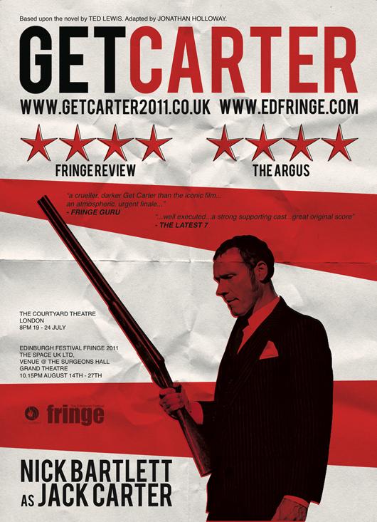 Get Carter Poster - Edinburgh and London