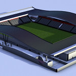 Erichot-Preira Football Academy Stadium – 3D Design