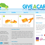 Give A Car – Website Build