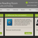 Online Reading Room – Website Design