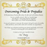 Overcoming Pride & Prejudice – Invite
