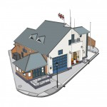 RNLI Littlehampton Illustration – Graphic Design