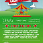 Family Fun Day Littlehampton – Graphic Design