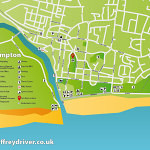 Littlehampton Map – Graphic Design