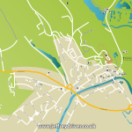 Tourist Map of Arundel – Graphic Design