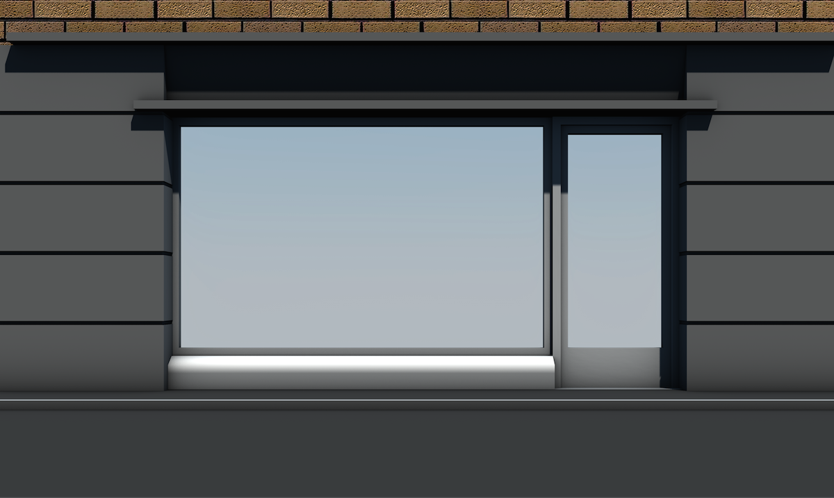 Shop-Front-Window-Empty-With-Door-1x1 SAMPLE