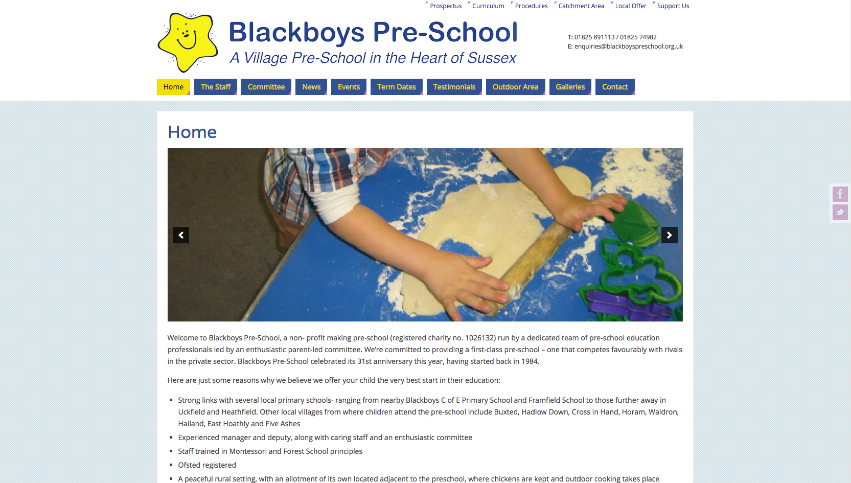 blackboys-preschool-website-design-development-build-sussex